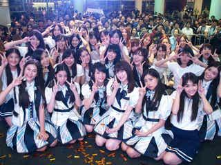 """新48グループ""""BNK48""""、選抜16人で初パフォーマンス 完全移籍・伊豆田莉奈も登場"""
