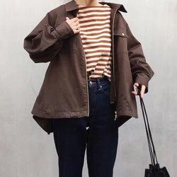 オーバーサイズなジャケットの今っぽい着こなし7選