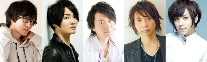 (左から)寺島拓篤、細谷佳正、木村良平、諏訪部順一、蒼井翔太