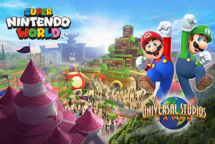 「SUPER NINTENDO WORLD」イメージビジュアル(C)Nintendo
