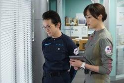 浅利陽介、比嘉愛未/「コード・ブルー」第9話より(画像提供:フジテレビ)