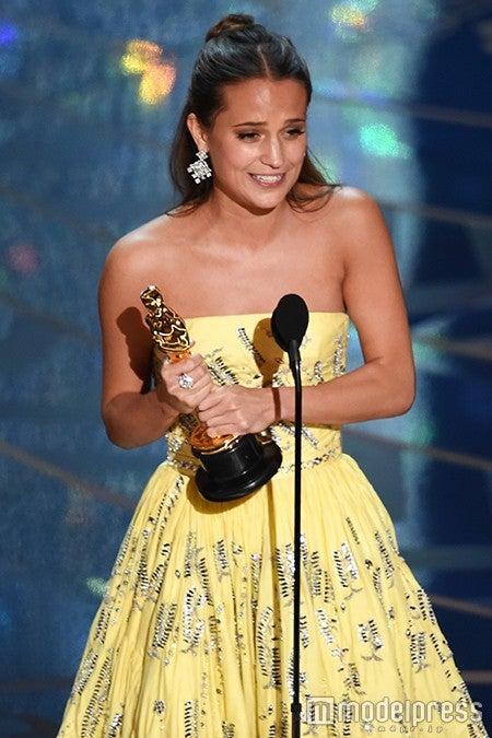 助演女優賞を受賞したアリシア・ヴィカンダー/photo:Getty Images