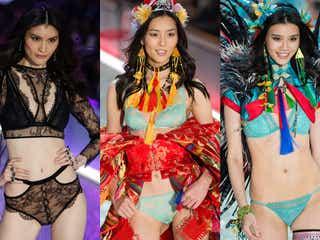 「ヴィクトリアズ・シークレット」注目アジア人まとめ 初の上海開催で中国No.1モデル、期待のホープも集結