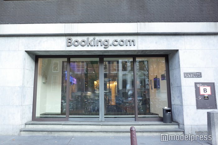 """銀行を改築したことから""""BANK""""と呼ばれるBookng.comアムステルダム本社屋(C)モデルプレス"""