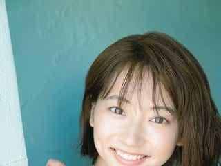 武田玲奈、少年誌ラストグラビアで美バストあらわ