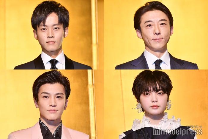 (左上から時計回りに)松坂桃李、高橋一生、平手友梨奈、岩田剛典(C)モデルプレス