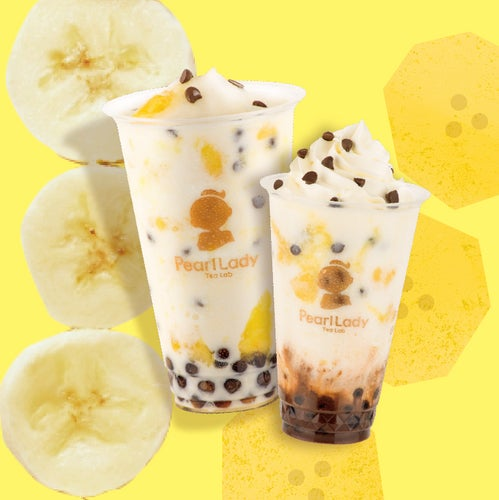 バナナミルクフローズン ¥450、ミルキーチョコバナナフローズン ¥500(税込)/画像提供:ネットタワー