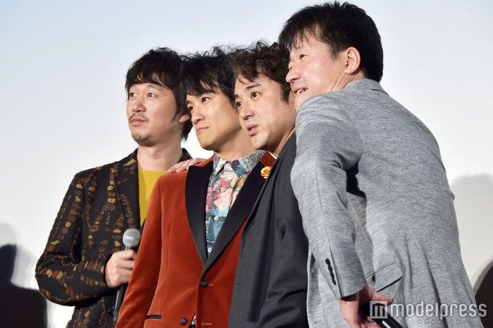NOおっふ?新井浩文、笠原秀幸、ムロツヨシ、佐藤二朗 (C)モデルプレス