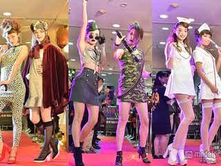 山本優希、宮城舞、尾崎紗代子らハロウィンコスで出現 目の前ランウェイに観客興奮<写真特集>
