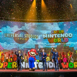 """USJ、任天堂エリア「SUPER NINTENDO WORLD」体験内容発表、現実とゲームの世界が融合する""""新時代テーマパーク体験"""""""