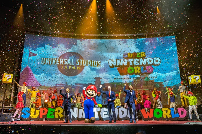 『SUPER NINTENDO WORLD』グローバル・キックオフ・プレゼンテーション(C)Nintendo