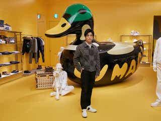 EXILE岩田剛典、渋谷に誕生「ルイ・ヴィトン」新店舗を堪能「新しい時代の始まり」