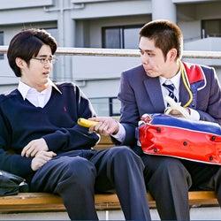 鈴鹿央士、細田佳央太「ドラゴン桜」第9話より(C)TBS