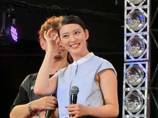武井咲が「湘南乃風」LIVEにサプライズで登場!SHOCK EYEからはドラマの出演交渉!?「武井さんに触られたい!」