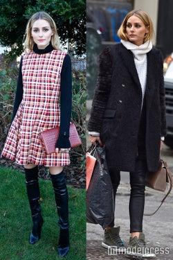 オリヴィア・パレルモの冬コーデを真似したい♡フェミニンもカジュアルもお手のもの