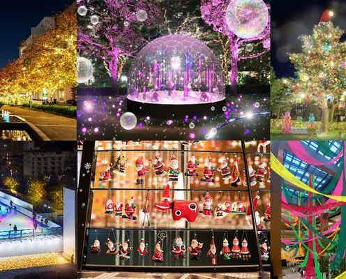 東京ミッドタウンのクリスマス2021 心躍るイルミネーション&アイススケート営業も
