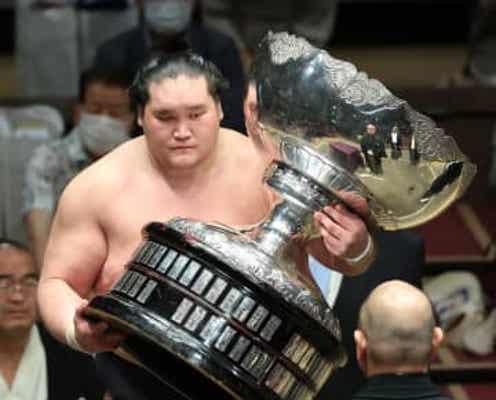 【秋場所】新横綱Vの照ノ富士「土俵で頑張る姿を見せるのがお相撲さんの仕事」