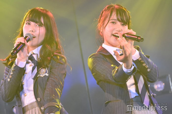 長久玲奈、前田彩佳/AKB48岡部チームA「目撃者」公演(C)モデルプレス