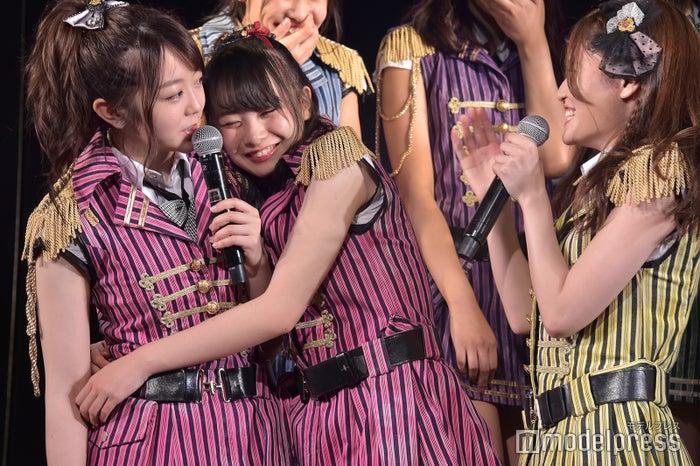 (中央)横山結衣/AKB48込山チームK「RESET」公演 (C)モデルプレス