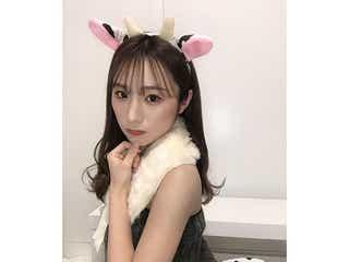AKB48 左伴彩佳の肌見せ牛コーデに反響!「ひだ牛たまりません!」