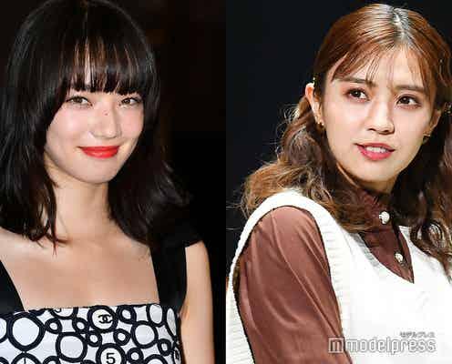 櫻坂46小林由依、小松菜奈との2ショット公開「顔面偏差値高すぎ」の声集まる