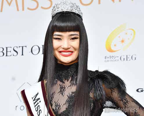 2019「ミス・ユニバース」日本代表、現役大学生・加茂あこさんに決定 13キロ減量で栄冠