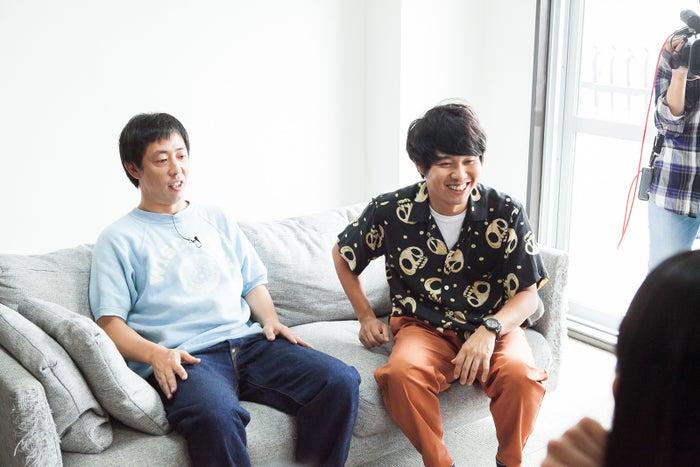 さらば青春の光(左から)森田哲矢、東ブクロ(C)日本テレビ