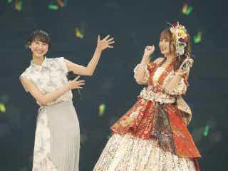 高柳明音の卒コンに〝親友〟松井玲奈がサプライズ登場「こんなにお祭り騒ぎしている人はいない」