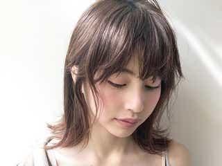 丸顔さんに似合うウルフカット特集 トレンドのヘアスタイルで小顔見え!