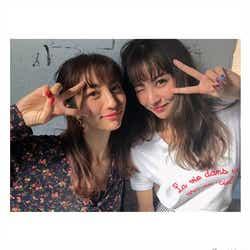モデルプレス - 堀田茜&石川恋、2ショットが「そっくり」「双子みたい」と話題