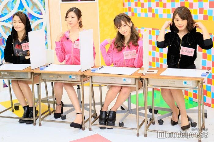 戸田れい、松嶋えいみ、星島沙也加、金子智美 (C)モデルプレス