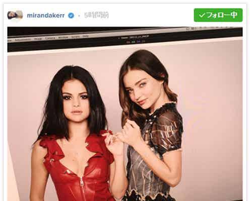 ミランダ・カー&セレーナ・ゴメス、美しすぎる2ショットに世界中から反響「オーラがすごい」「セクシー」