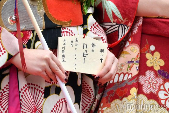 川後陽菜の絵馬 (C)モデルプレス