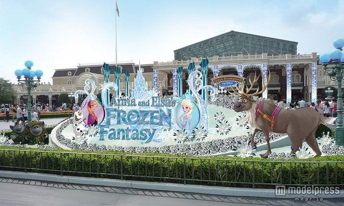 ディズニー、新イベント続々 初登場「アナ雪」イベントの詳細も発表/デコレーションイメージ(C)Disney【モデルプレス】