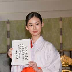 モデルプレス - 国民的美少女・井本彩花、憧れの巫女姿が美しい