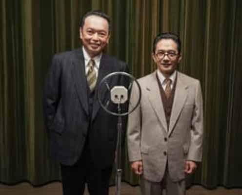 中川家、初の朝ドラで伝説の漫才師に「信頼と実績でやらさせていただいております!」