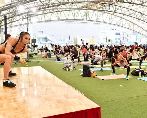 カリスマトレーナーAYA、初の1,000人超えイベント開催 力強いパフォーマンスを披露