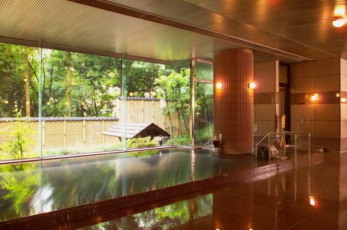 宇奈月国際ホテル/桜御影石の大浴場/画像提供:宇奈月国際ホテル