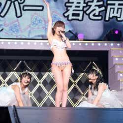 モデルプレス - HKT48指原莉乃、1万5千人の前で生着替え&熱湯風呂 総選挙V3宣言も