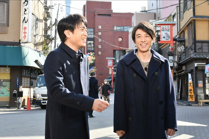 (左から)安住紳一郎アナ、高橋一生(TBS)