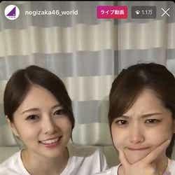 モデルプレス - 乃木坂46白石麻衣&松村沙友理、ハワイからインスタライブでコメント殺到