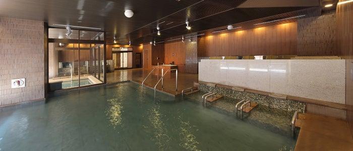 八番館女性大浴場「滝の湯」/画像提供:あさやホテル