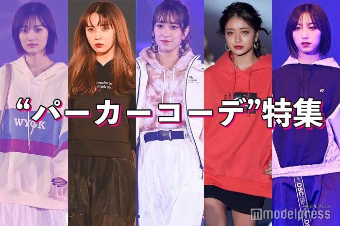 (左から)山下美月、小林由依、佐々木久美、みちょぱ、坂東希 (C)モデルプレス