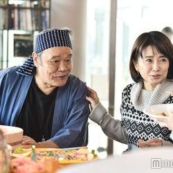 西田敏行、風吹ジュン「家族ノカタチ」第2話場面カット/画像提供:TBS