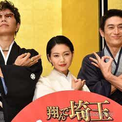 (左から)GACKT、二階堂ふみ、伊勢谷友介(C)モデルプレス