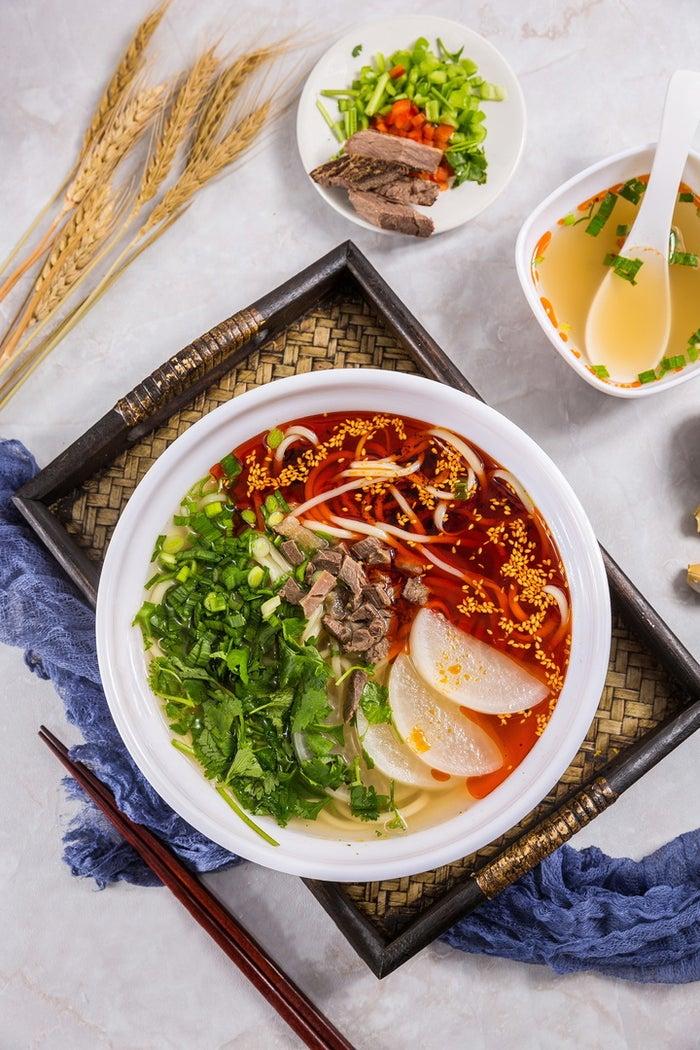 中国蘭州牛肉ラーメン国壱麺/画像提供:国壱麺