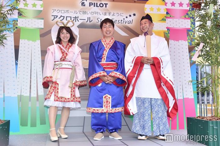 磯山さやか、福田薫、益子卓郎 (C)モデルプレス