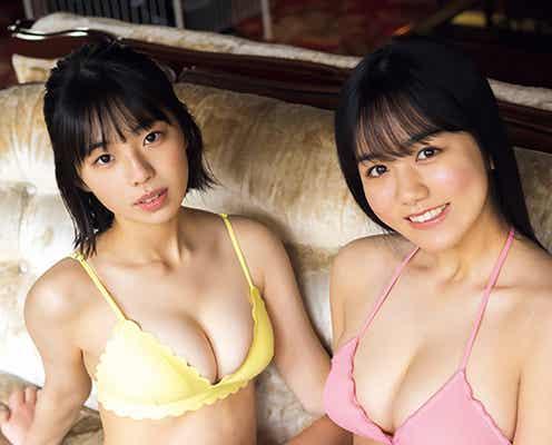 「ミスマガ2020」後藤真桜&菊地姫奈、JKコンビの圧倒的ボディ 青春グラビアで魅了
