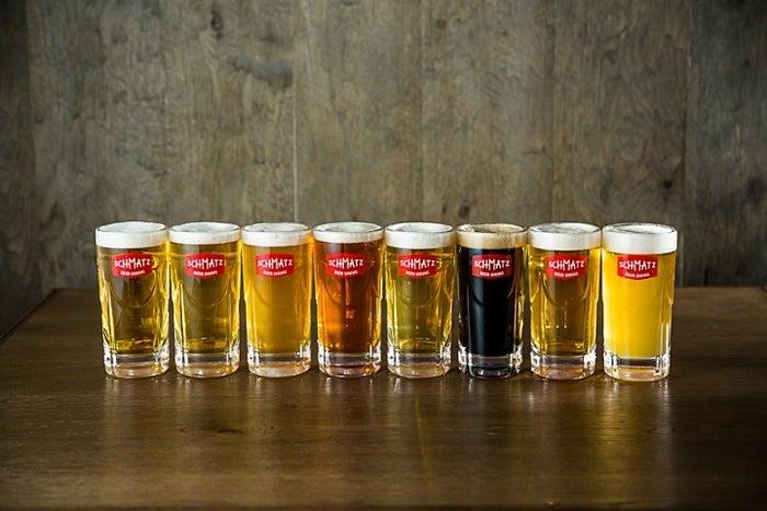 各種ビール/画像提供:SCHMATZ