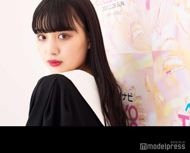 鶴嶋乃愛、最近変えた美肌ケア「すごく調子が良くなった」 2021年力を入れたいことも語る<TGCフィッティングに潜入>